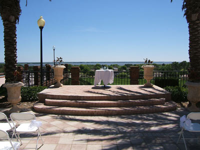 Harbor Hills Country Club Wedding Ceremony Site